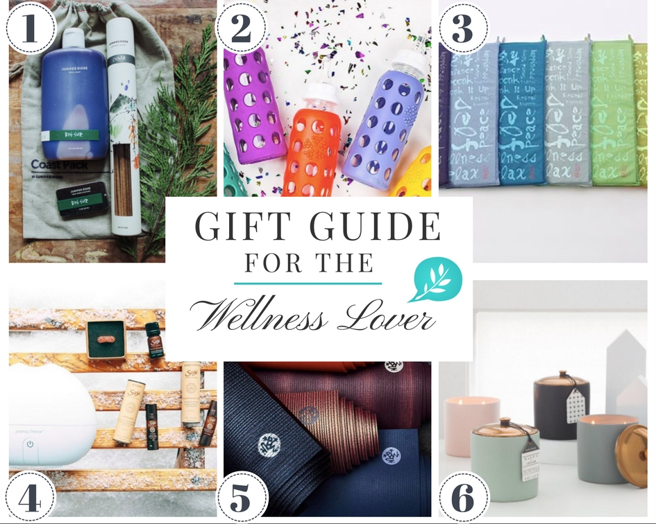 gift guide for wellness lover