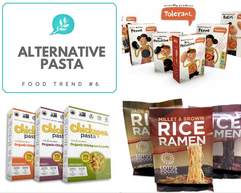 Food Trends 2017 Alternative Pastas