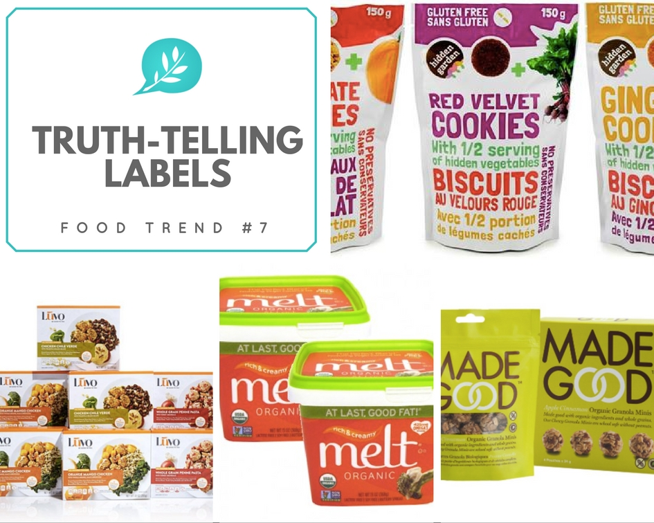Food Trends 2017 Labelling