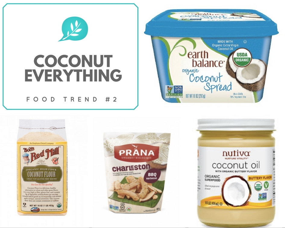 2017 Food Trend Coconut