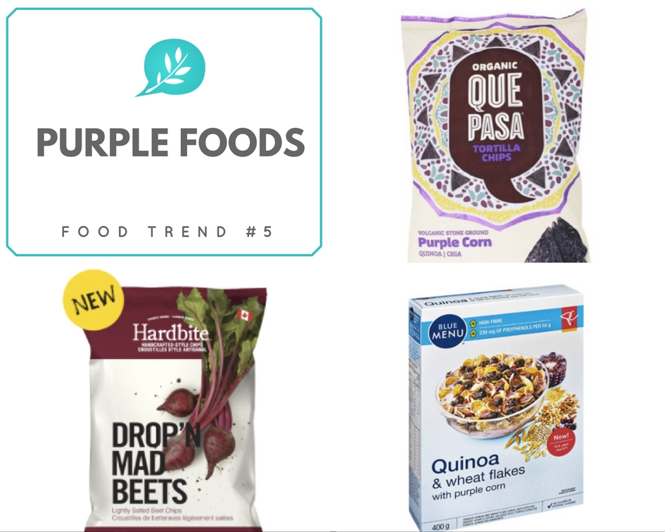 Food Trends 2017 Purple