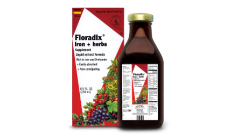 FloraDix Liquid Iron Supplement