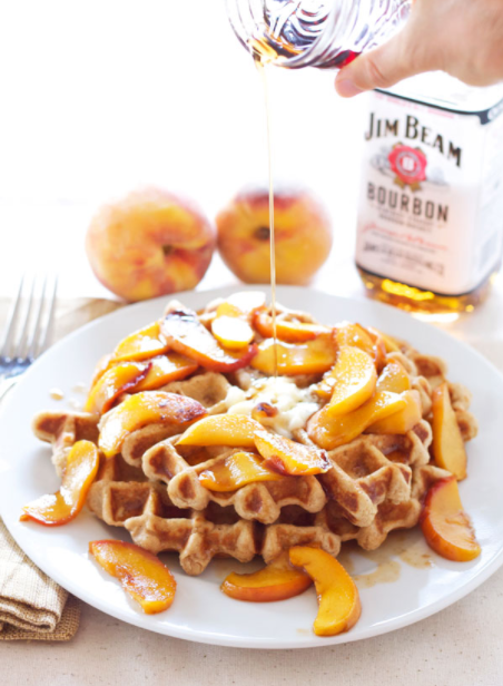 Bourbon Peaches