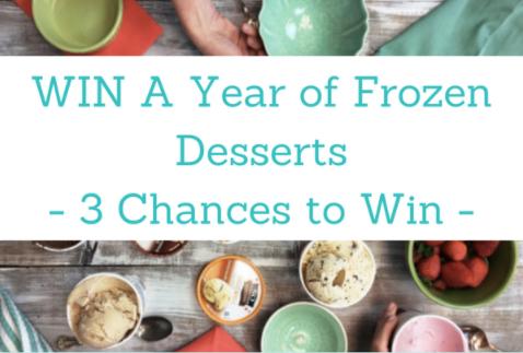 Would you like a year of So Delicious Frozen Dessert? Enter to WIN!
